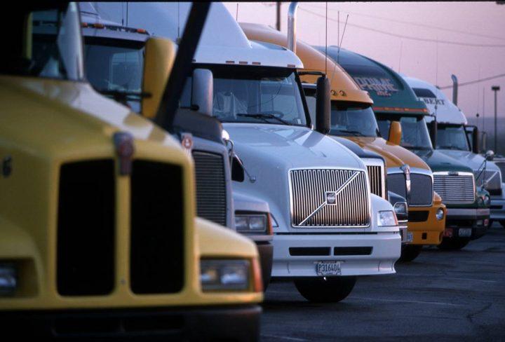 transport truck rig semi