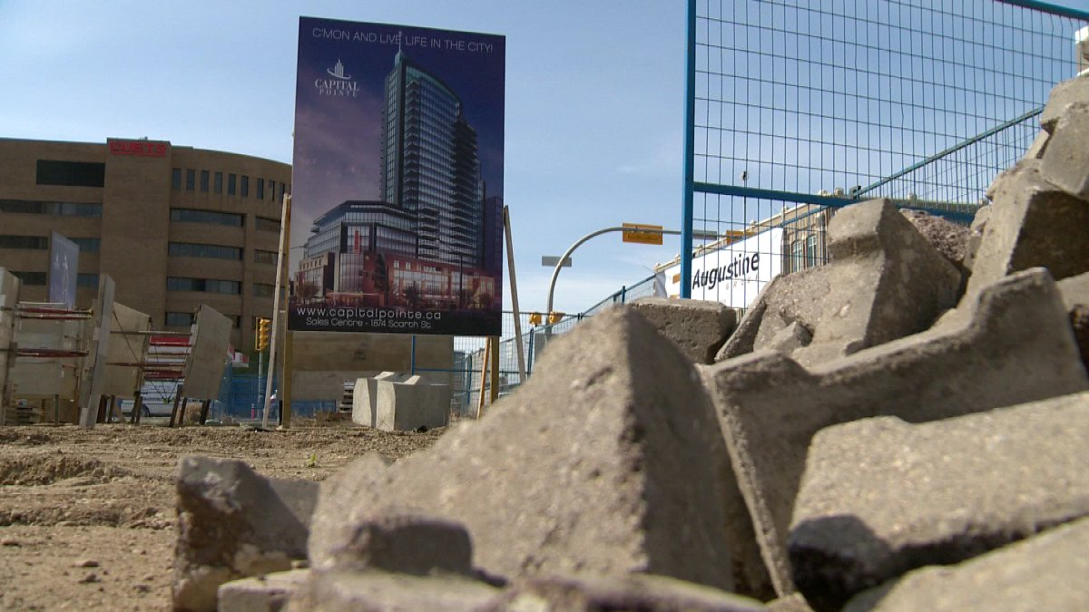 On May 25, the City of Regina announced the green light has been given to fill the hole at Capital Pointe.