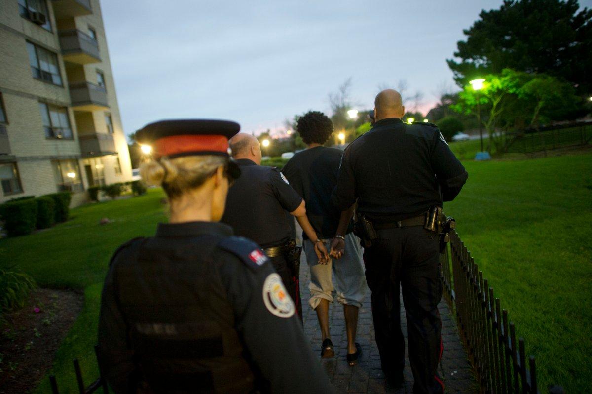 Project TRaveller Etobicoke raids police