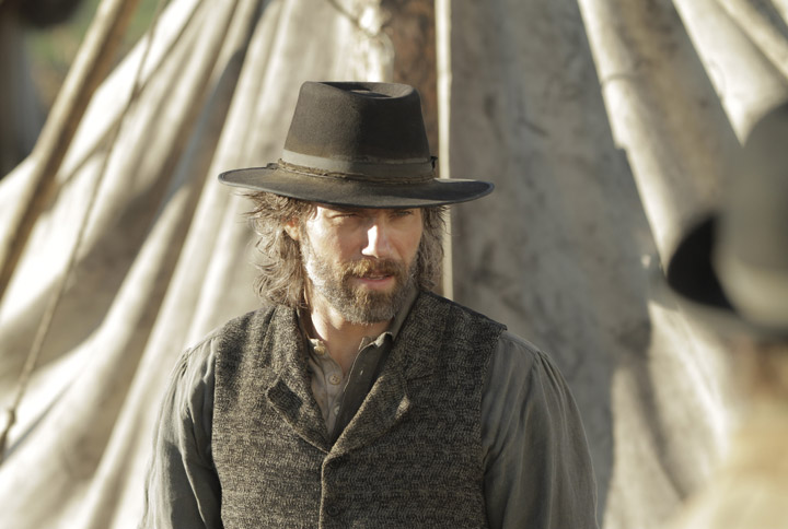 Anson Mount in a scene from 'Hell on Wheels.'.