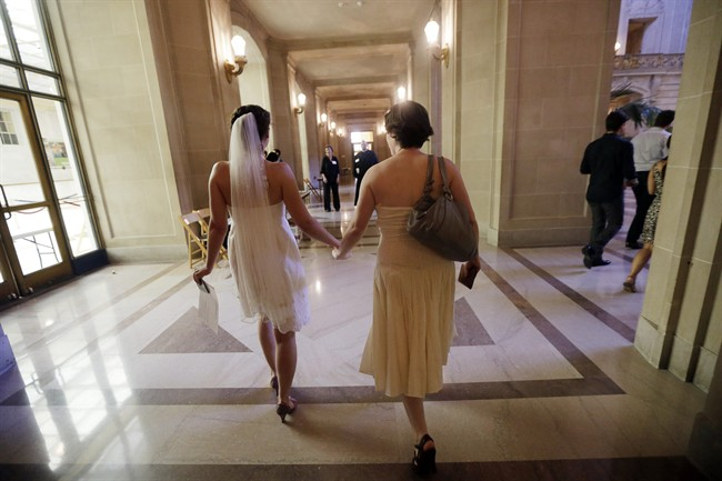The new poll found two-thirds of Canadians support full marriage rights for same-sex couples.
