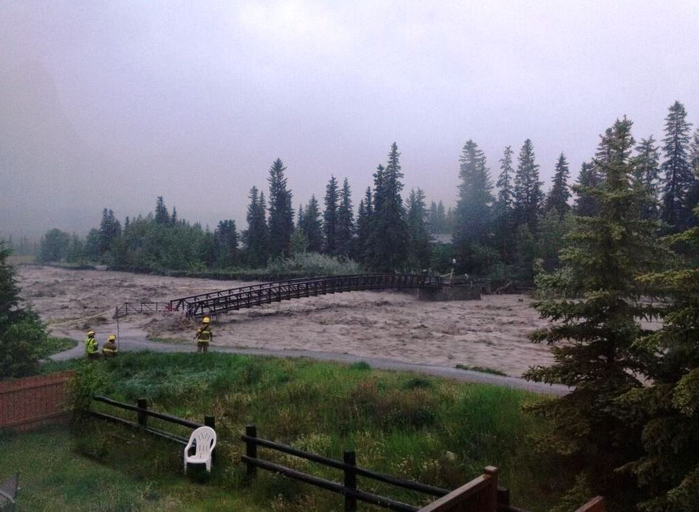 Cougar Creek in Canmore.