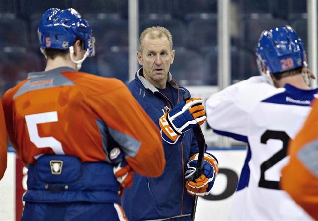 Edmonton Oilers head coach Ralph Krueger is pictured in Edmonton.