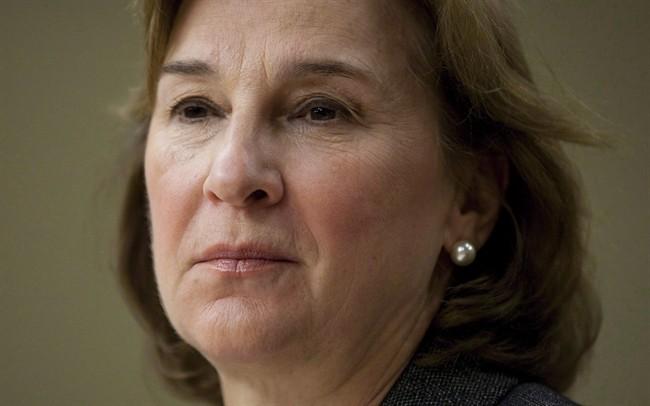 Privacy commissioner Jennifer Stoddart is shown in Ottawa on Nov. 25, 2010.