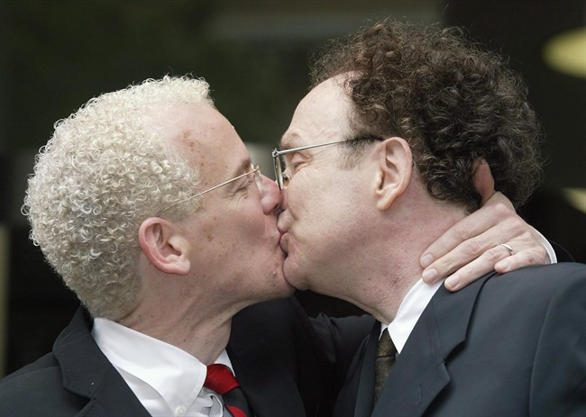 Gay marriage was legalized in Canada in 2005.