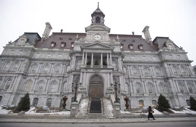 Montreal city hall.