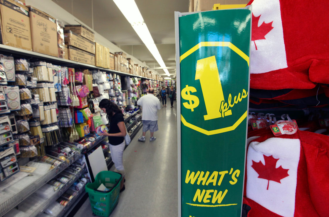 """""""In general, we like to maintain our prices as long as we can, but this is really an exceptional time,"""" Dollarama chief Larry Rossy said."""