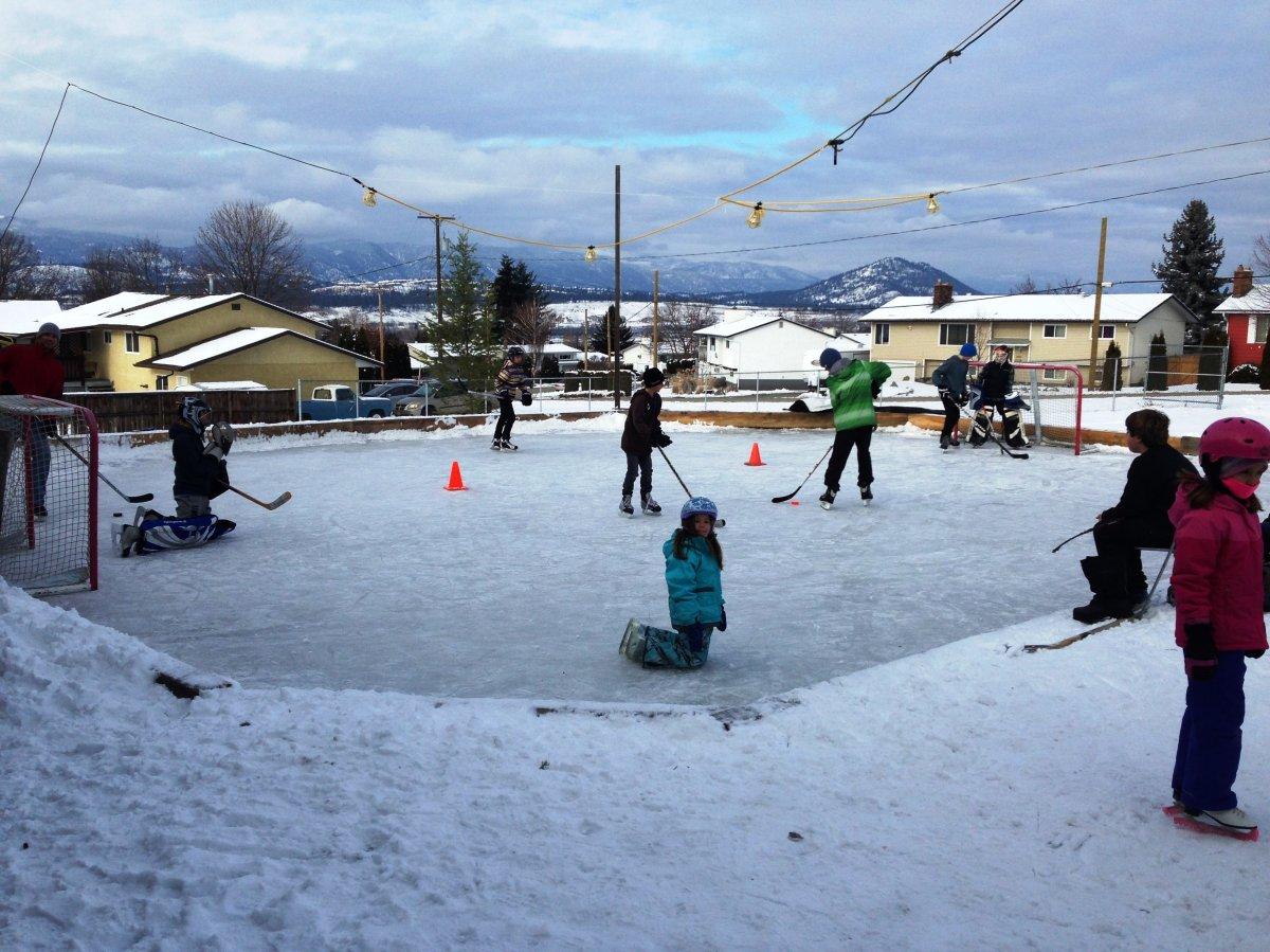 Ellison Ice Rink.