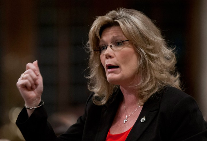 Conservative MP Shelly Glover is one of two Tory MPs that Elections Canada wants suspended.