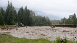 Continue reading: Gallery: Flooding and road washouts in B.C. due to heavy rains