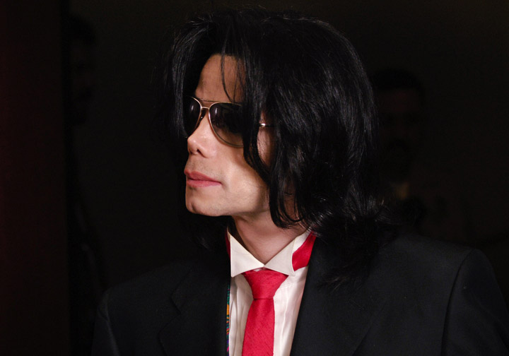 Michael Jackson, pictured in 2005.