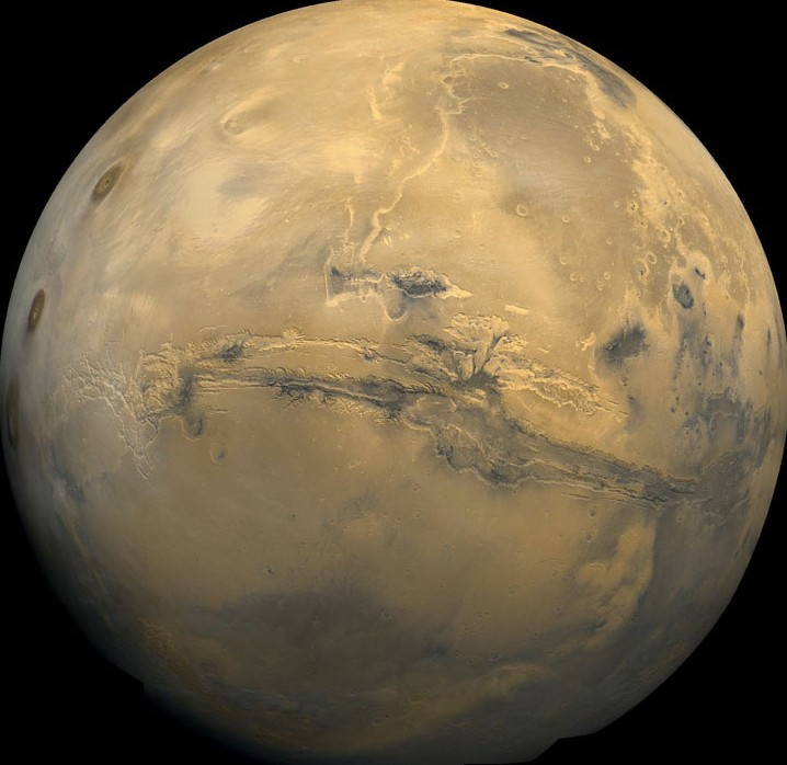 Living on Mars means we'll have to be able to grow food.