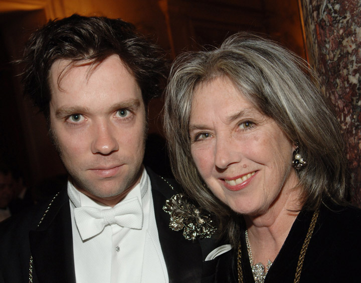 Rufus Wainwright and his mother Kate McGarrigle, pictured in 2007.