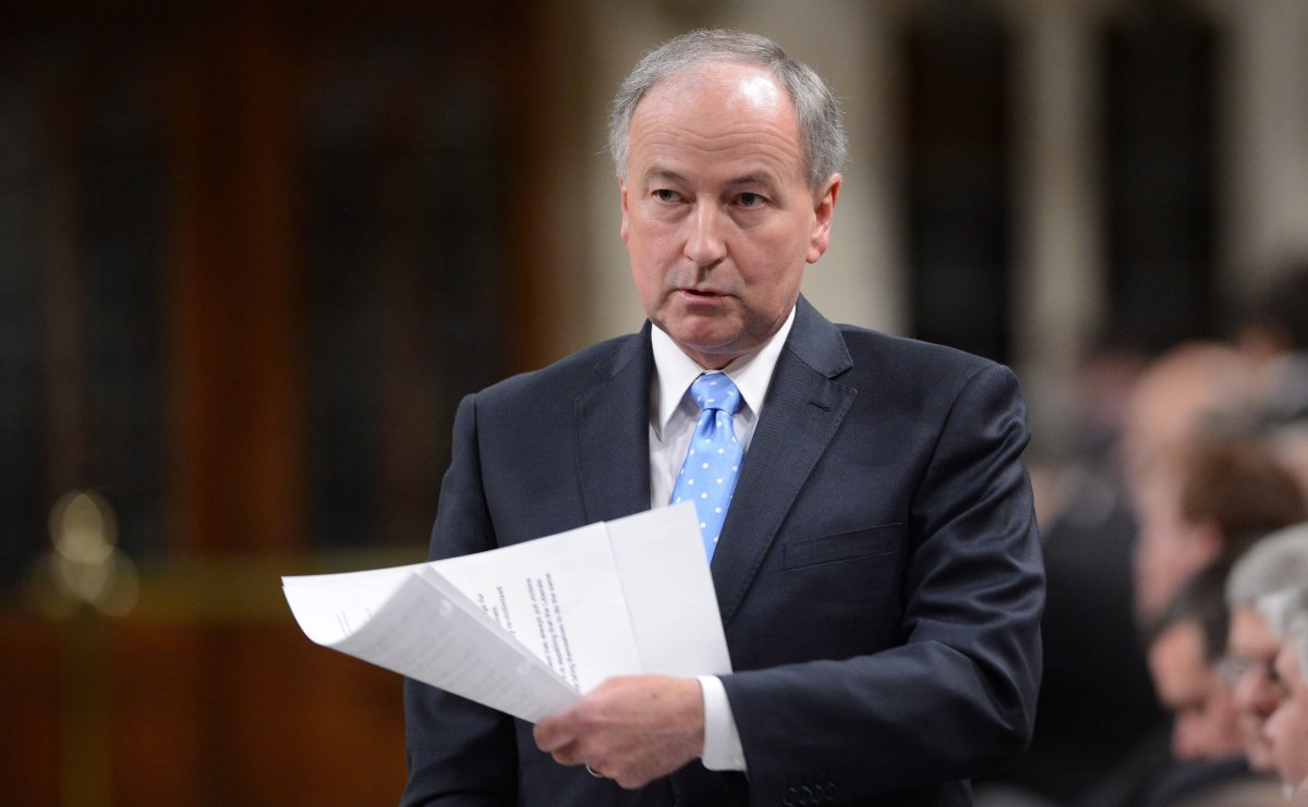Minister of Justice Rob Nicholson responds to a question during question period in the House of Commons on Parliament Hill in Ottawa on Thursday June 6, 2013.