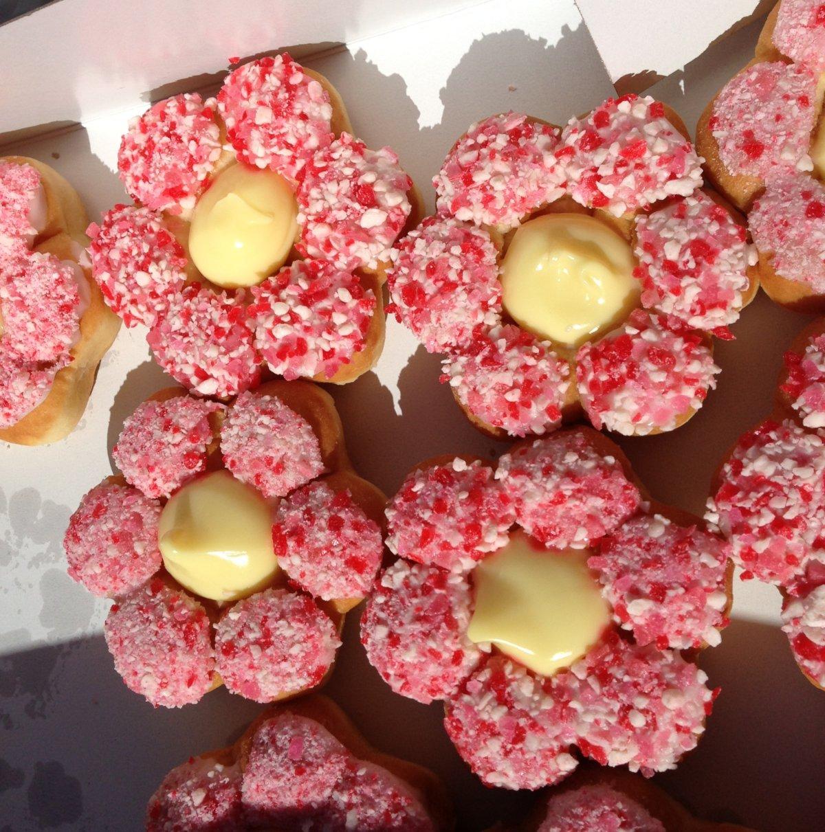The Alberta Rose donut. Dani Lantela/Global News.