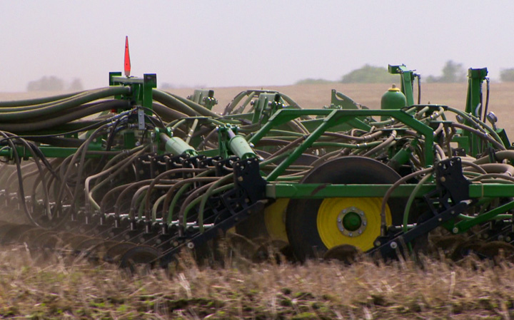 Crop report says Saskatchewan seeding is nearly finished and on track to surpass the five-year average for this time of year.