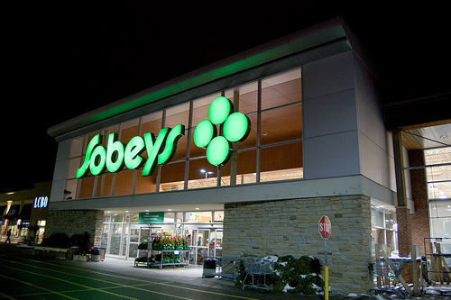 A Sobeys outlet in Winnipeg. The company said Thursday it was shuttering 50 supermarkets across the country.