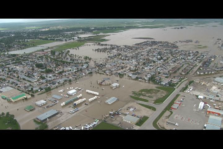 Based on satellite imagery obtained by the Gravity Recovery and Climate Experiment (GRACE), it should have been evident months ago that Alberta was going to face serious flooding.