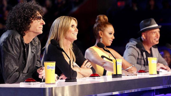 Howard Stern, Heidi Klum, Mel B and Howie Mandel are judges on 'AGT.'.