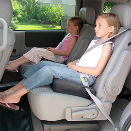 Beginning Friday booster seats will now be mandatory for children under the age of 7 in Saskatchewan.
