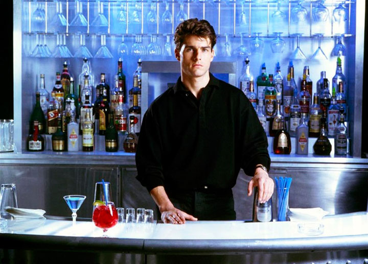Tom Cruise stars in 'Cocktail,' which was filmed in Toronto 25 years ago.