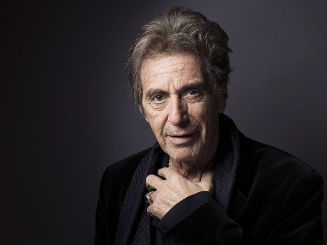 Al Pacino, pictured in 2012.