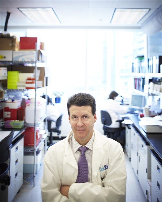 Stephen Scherer, director of the Centre for Applied Genomics, Hospital for Sick Children, is pictured in a handout photo. A Canadian-led international research team has identified several new genetic mutations that appear to be linked to autism spectrum disorder, using a method that looks at the entire DNA code of affected individuals.