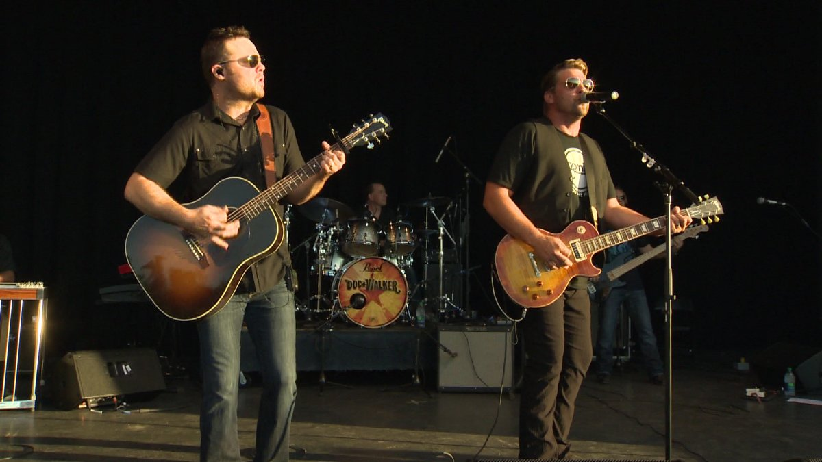 Award winning country band 'Doc Walker' plays a free show at Assiniboine Park Friday, July 12, 2013.