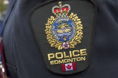 The Edmonton Police Service badge.