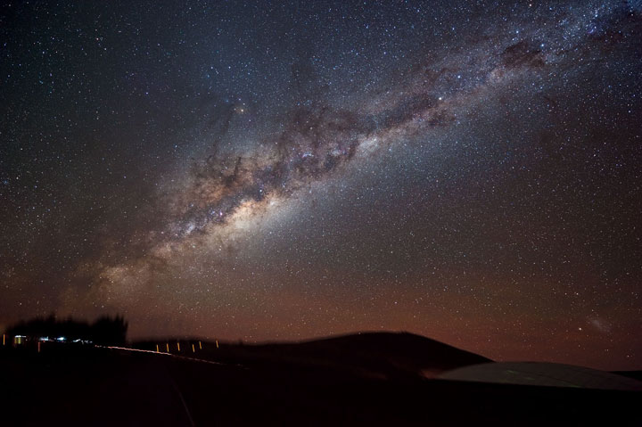 The Milky Way as it stretches across Chile's Atacama Desert.