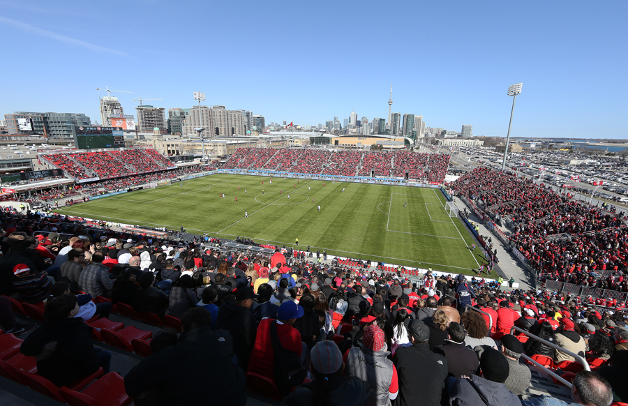Toronto FC TFC soccer BMO Field
