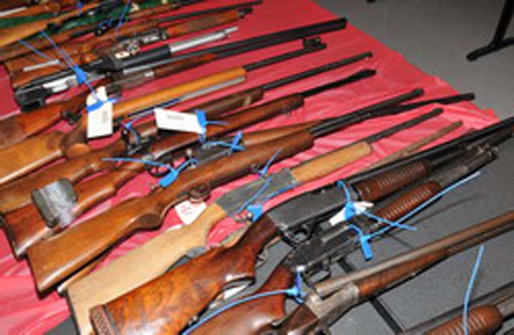 Gun amnesty brings in close to 100 firearms for Coquitlam Mounties - image