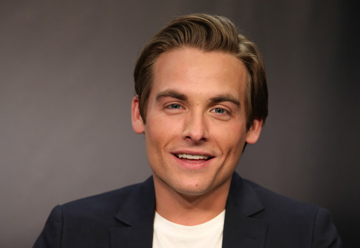 Kevin Zegers, pictured in July 2013.