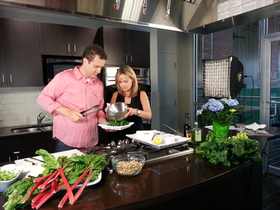 Susan Hay swiss chard recipe Simply Delicious