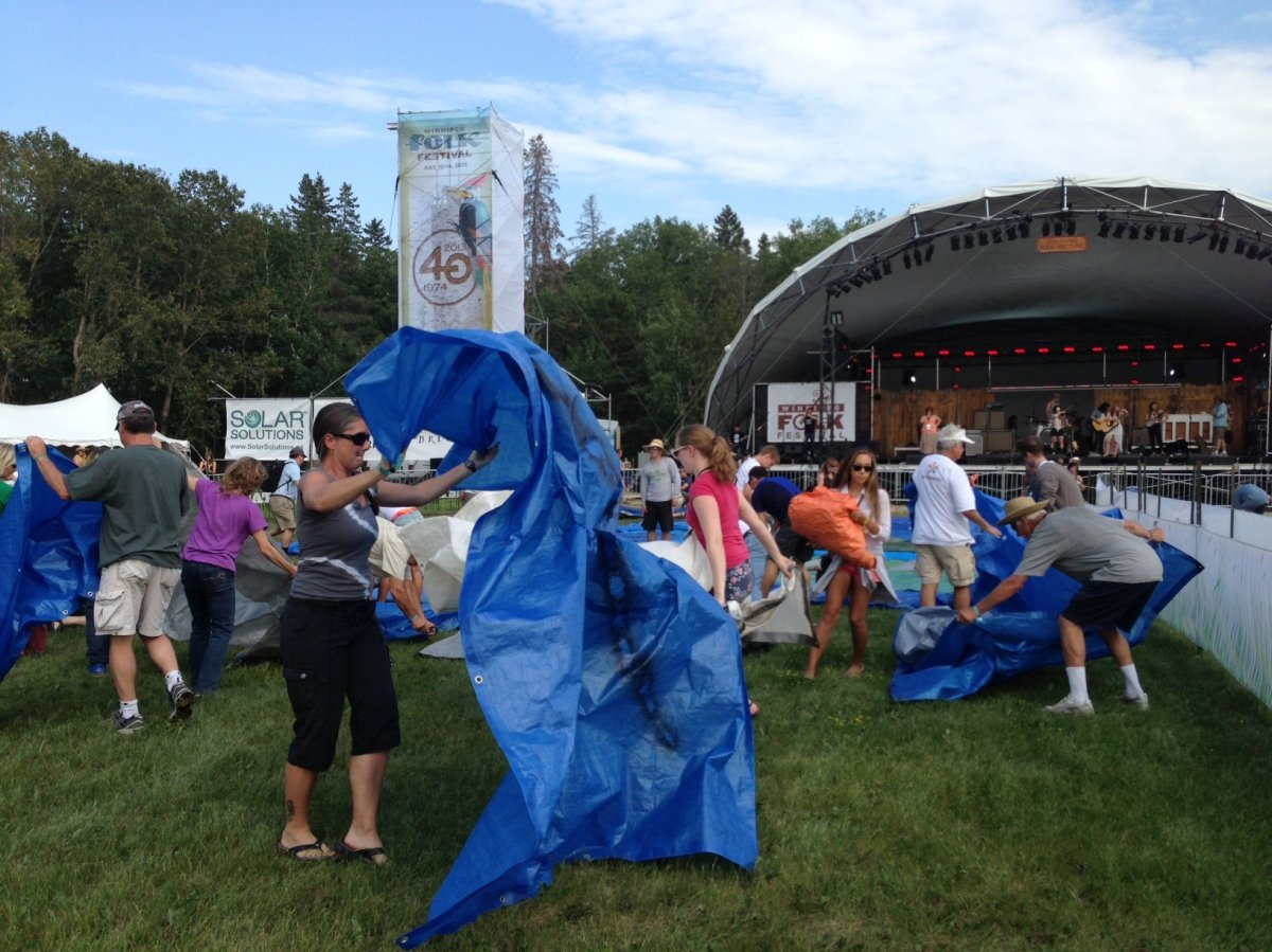 The Winnipeg Folk Festival will be cut to four days in 2015.