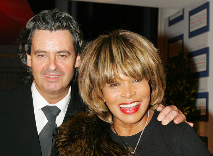 Erwin Bach and Tina Turner, pictured in 2005.