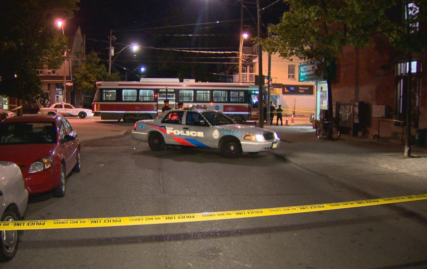 Sammy Yatim bullets hit streetcar shooting