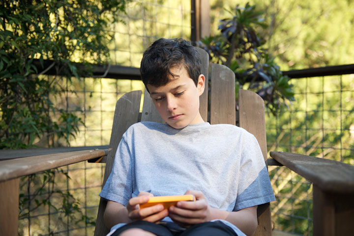 Yes, it's true; the days of family getaways – free of electronic distractions – are long gone. But don't worry; there's an app for that!.