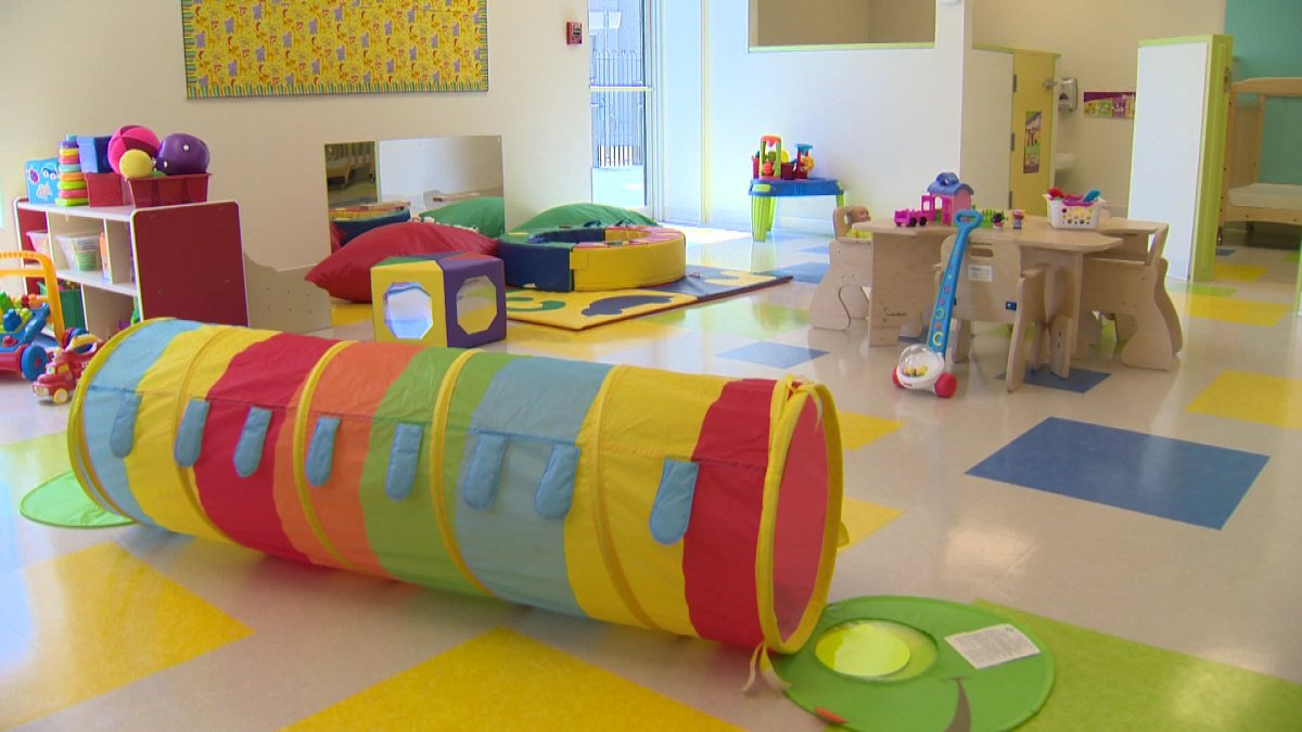 """Officials say $25 million dollars will be spent """"to continue building and expanding 20 early learning and child-care centres.""""."""