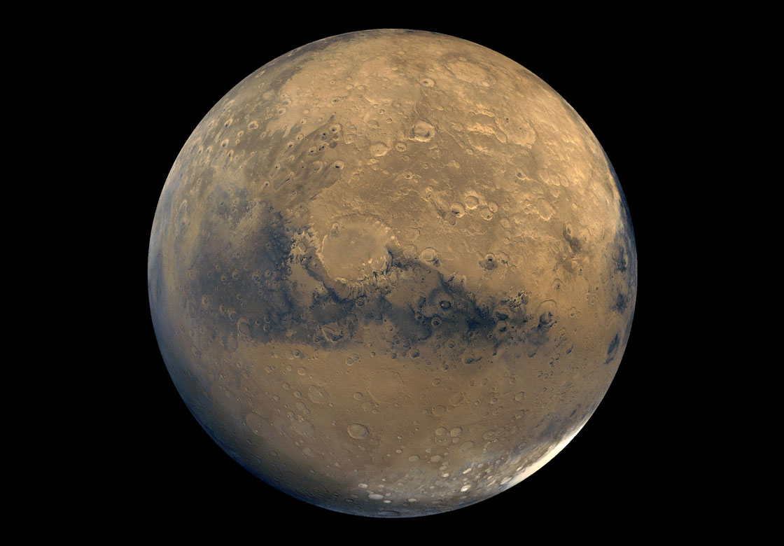 Supervolcanoes, similar to the one that sits beneath Yellowstone National Park, have been discovered on Mars.