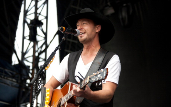 Paul Brandt performs at the Boots and Hearts Festival in Bowmanville.