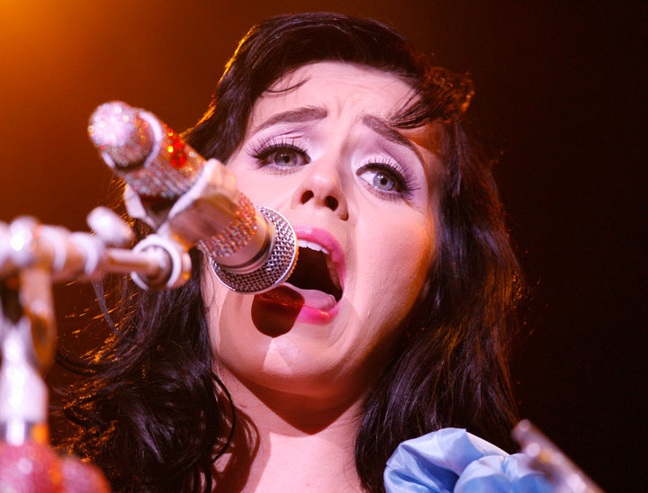 Katy Perry, pictured in 2009.