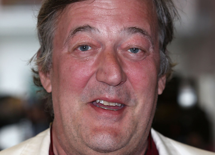 Stephen Fry, pictured in June 2013.