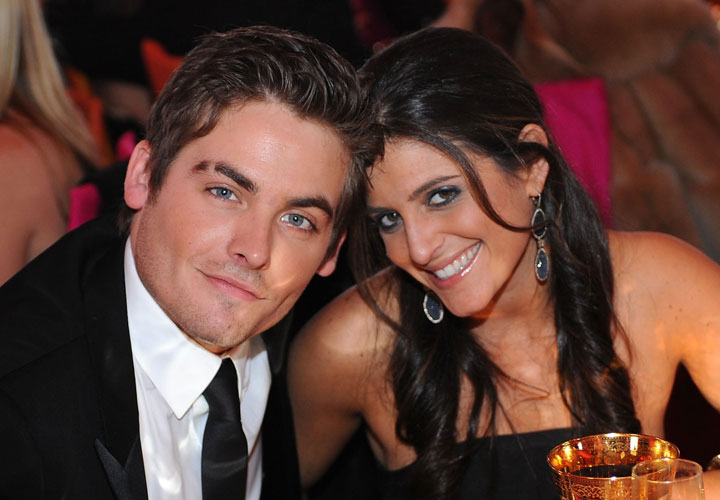 Kevin Zegers and Jaime Feld, pictured in 2008.
