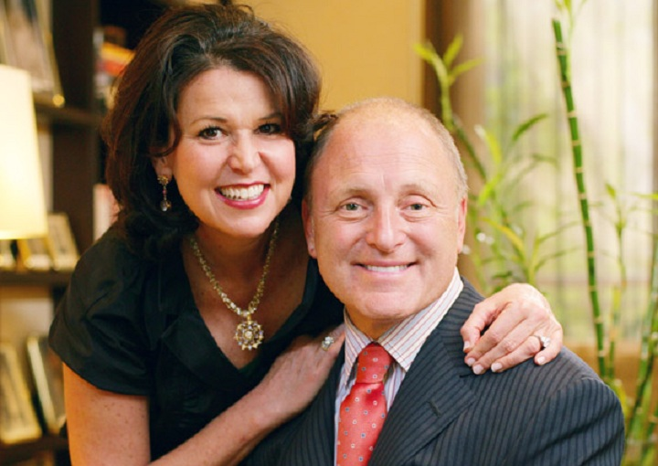 Bruce Heyman and his wife Vicki.