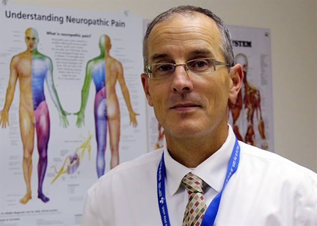 Dr. Shawn Marshall, rehabilitation medicine specialist at the Ottawa Hospital Research Institute, is shown in a handout photo.