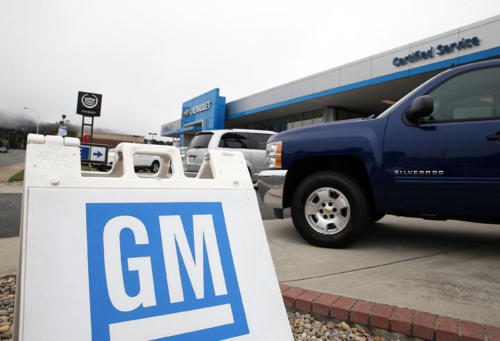 The federal and Ontario governments have sold a block of 30 million shares in General Motors valued in the neighbourhood of $1.1 billion.