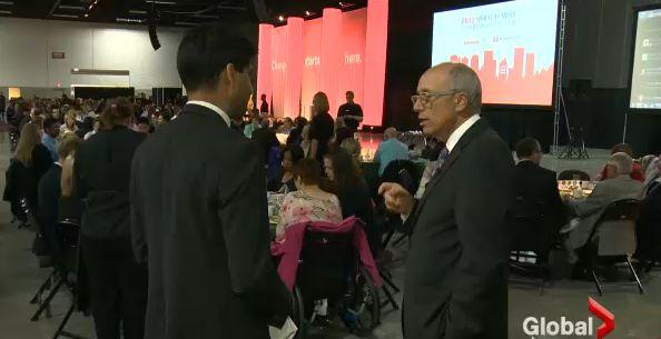 Vinesh Pratap interviews Mayor Stephen Mandel.
