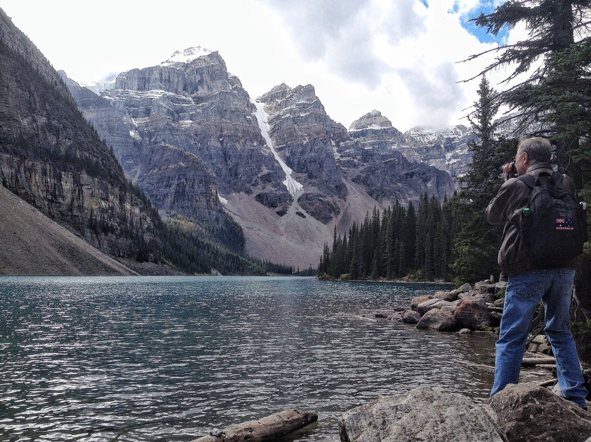 A file photo of Moraine Lake.