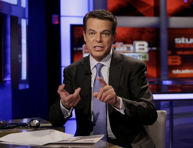Shepard Smith, seen here in a 2011 photo, said Fox News mistakenly reported that a man was shot while being pursued by police in Baltimore, Maryland,.